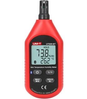 Higrómetro/termómetro de la UNIDAD de UT333