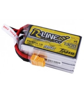 Battery 5S 1300mAh 95C TATTU R Line