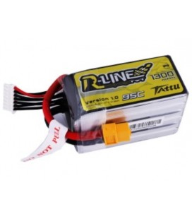 Battery 6S 1300mAh 95C TATTU R Line