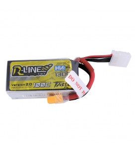 Battery 4S 1300mAh 100C HV TATTU R Line