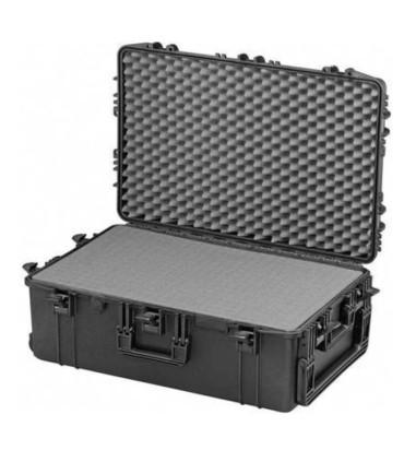 Valise MAX750H280S avec cubes mousses