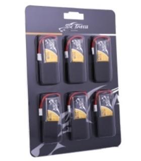 Pack de 6 batería Tattu 350mAh 30C 1S1P