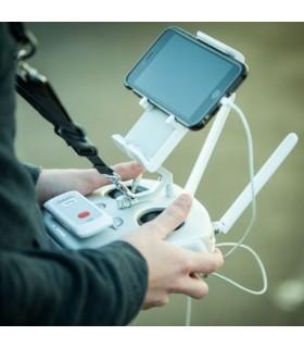 Radio remote control for Parachute Drone 868MHz - 2.5 km range