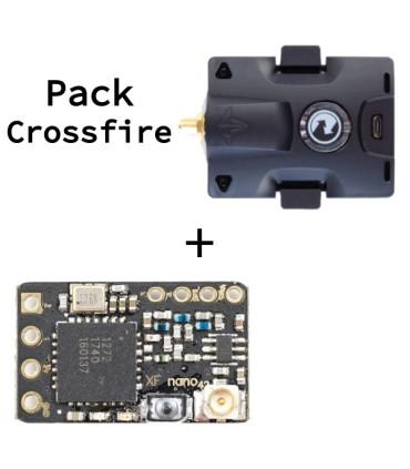 Pack Crossfire - Nano récepteur SE + Micro Emetteur TBS