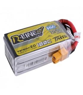 Batterie Tattu R-Line V2 4S 1550mAh 100C