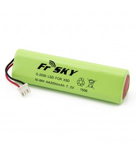 Battery-FrSKY for Taranis X9D