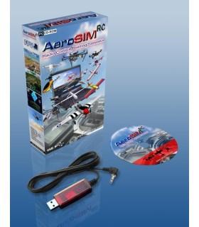 Simulador de vuelo Aerosim RC (avión no tripulado, avión, helicóptero...)