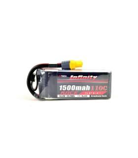 Batería INFINIDAD de Grafeno 1500mAh 4S 110C
