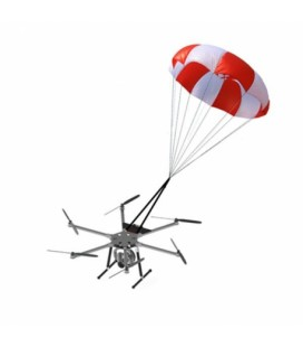 Parachute de sécurité 4m²
