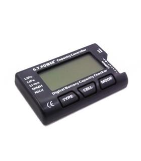 Probador de baterías, GT Poder LiPo 2S-7S