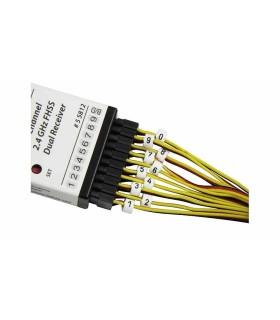Los marcadores de cables y servo-MPX