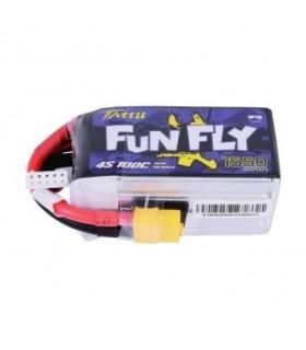 Batterie Lipo Tattu FunFly 1300mAh 4S 100C