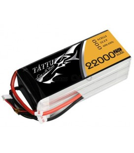 Location 10 batteries Tattu 6S 22000mAh HV + chargeur rapide