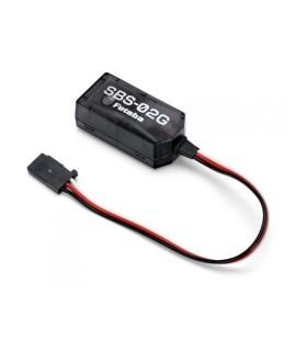 Capteur de télémétrie Futaba SBS-02G GPS