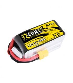 Battery 6S 1300mAh 120C TATTU R-Line V3.0