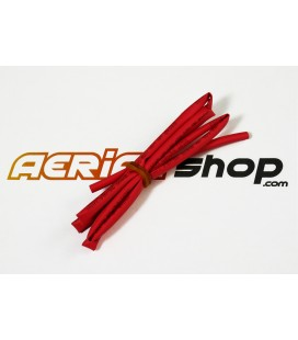 Heat shrink tubing Ø4mm/2mm red