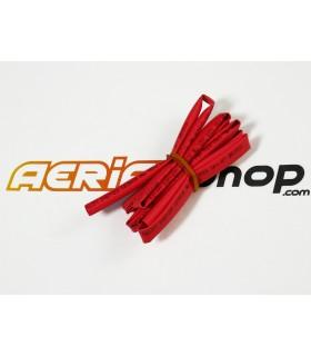 Heat shrink tubing Ø6mm/3mm red