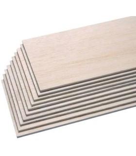 Tablón de madera de balsa de 1000x100mm