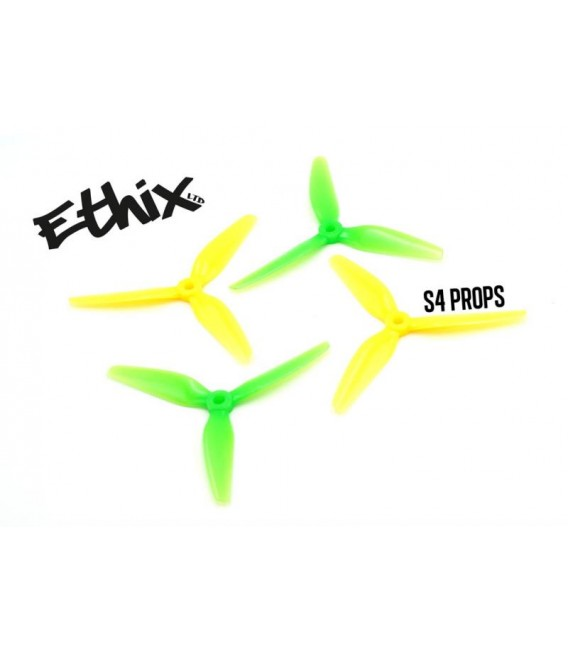 "Hélices Ethix S4 ""Lemon Lime"" 5X3.7X3"