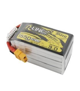 Batterie 6S 1550mAh 120C TATTU R Line V3.0