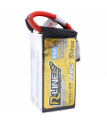 Batterie Tattu R-Line V2 4S 1550mAh 100C (câble détachable)