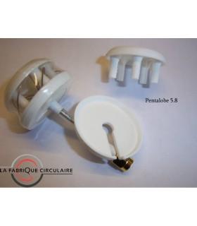 Antenna SL Pentalobe Produce Circolare 5.8 GHz RHCP