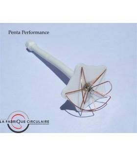 Antenna Penta Perf LaFabCirc solido 5.8 GHz RHCP SMA