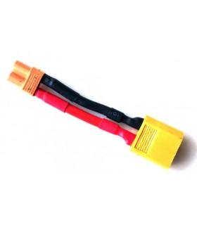 Adaptateur XT60 (M) vers XT30 batterie (F)