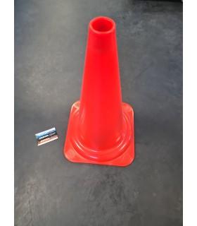 Cône de signalisation orange 50cm 1,3kg