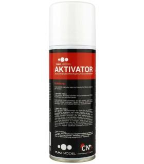 Activador para cianoacrilato YUKIMODEL aerosol de 200 ml