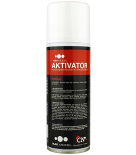 Activateur colle cyanoacrylate YUKIMODEL bombe 200ml