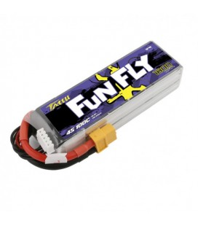 Batterie Lipo Tattu FunFly 4S 1800mAh 100C