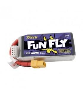 Batterie Lipo Tattu FunFly 3S 1300mAh 100C