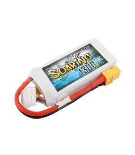 Batterie Lipo Gensace SOARING 1300mAh 11.1V 30C 3S