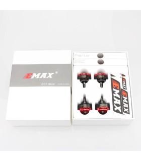 Combo de 4 motores/Esc EMAX RS 2205S 2600KV y 4 ESC de 30A Bala
