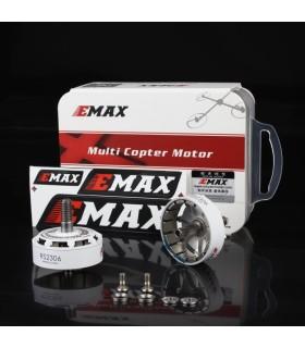 Cage de remplacement pour moteur EMAX RS2306 2400 KV Blanc