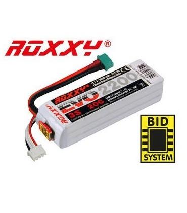 Batterie Lipo ROXXY EVO 3S 2200mAh 20C