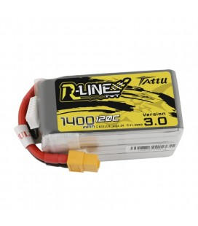 Batterie 6S 1400mAh 120C TATTU R Line V3.0