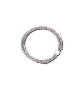 Câble acier inox tressé diamètre 0.5mm x 2m