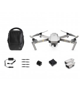DJI MAVIC-PRO PLATINUM-Fly-more Combo