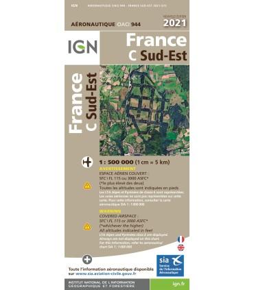 Cartes OACI France 2021