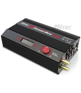 Alimentation stabilisée E-Powerbox 50A 12V-18V avec USB 5V Hitec (1200W)