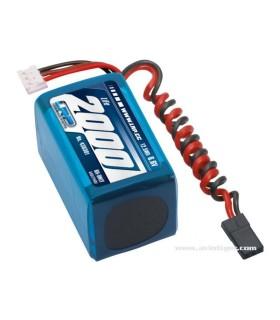 Batterie de réception LI-FE 6,6V 2000