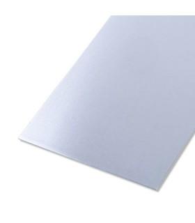 Tôle lisse en aluminium brut 0,8mm 120mm x 1000mm