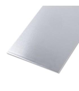 Tôle lisse en aluminium brut 1,5mm 250mm x 500mm