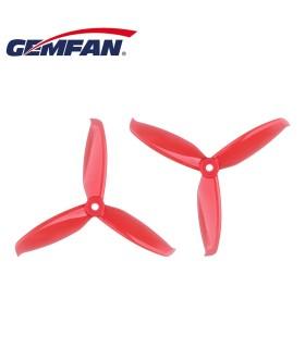 Set von 4 propeller GEMFAN 5042 tri-klinge WinDancer NACHHALTIGE (gelb)