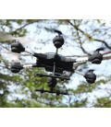 Mini drone héxacoptère avec retour vidéo