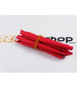 Gaine thermo-rétractable Ø5 mm rouge