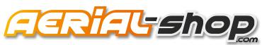 logo aerial shop
